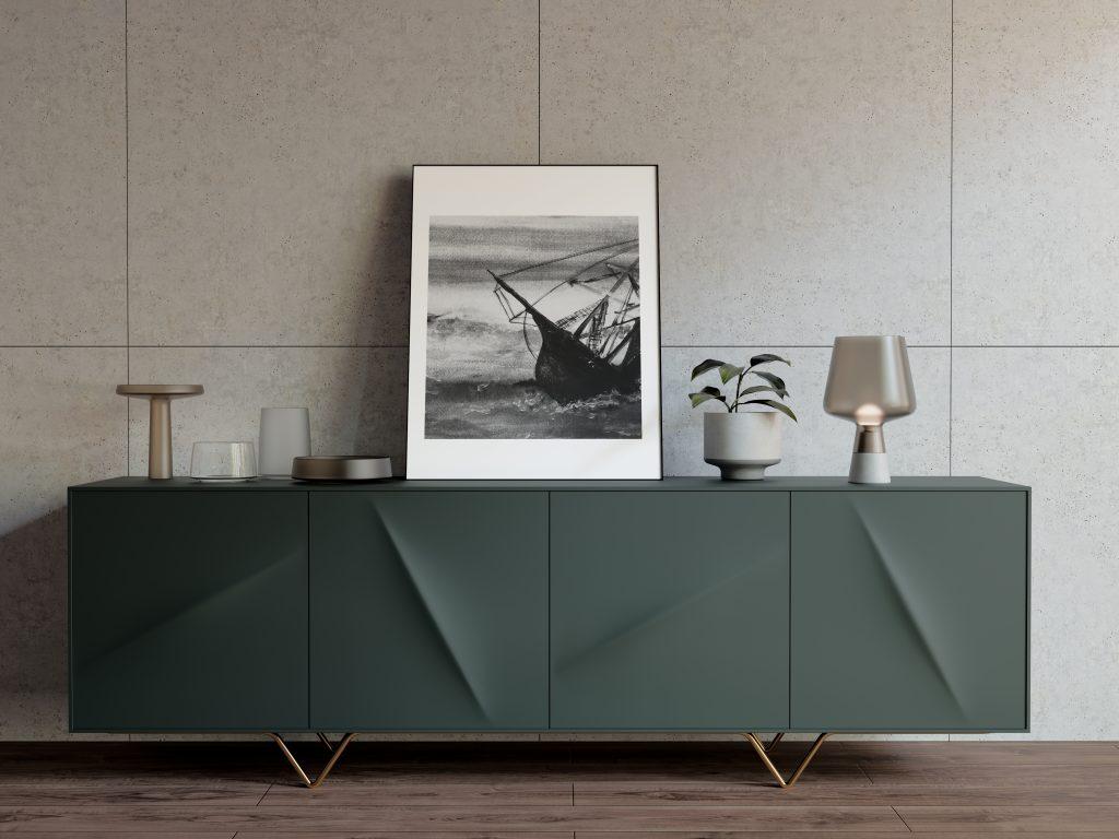 Sinking ship art poster